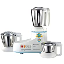 Panasonic MX-AC300S 550-Watt 3-Jar Super Mixer Grinder