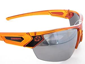 Oklahoma State Cowboys OSU Orange Transparent Sunglasses S12OR by Sports Accessory Store