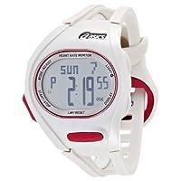 [アシックス ランニングウォッチ]ASICS RUNNING WATCH AH01 Heart Rate Monitor  ホワイト/レッド CQAH01.03