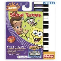 I Can Play Piano Software - Nicktoons Show Tunes - 1
