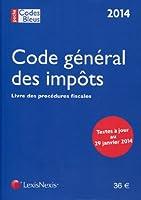 Code général des impôts & Livre des procédures fiscales 2014