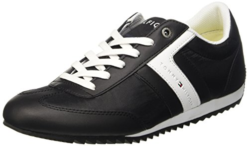 Tommy Hilfiger B2285RANSON 8C_3 Scarpe Low-Top, Uomo, Nero (Black 990), 41