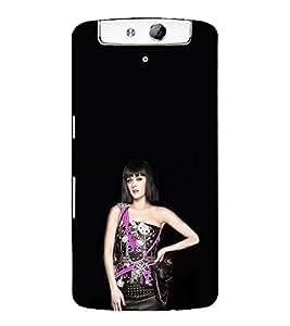 EPICCASE Katy perry hot Mobile Back Case Cover For OPPO N1 (Designer Case)