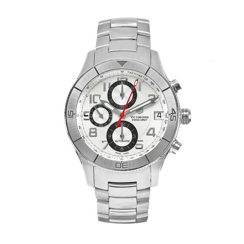 Swiss Watches:Victorinox Swiss Army Men's 241191 SSC Stainless Steel Automatic Chronograph Watch Images