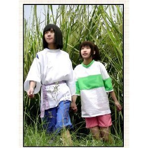 Sen to Chihiro no kamikakushi AK1682 Haku cosplay costumes complete leasing is also available