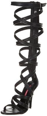 C Label Women's Milan-8 Dress Pump,Black,9 M US