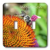 lsp_25185_2 Patricia Sanders Flowers - Inspiration - Light Switch Covers - double toggle switch