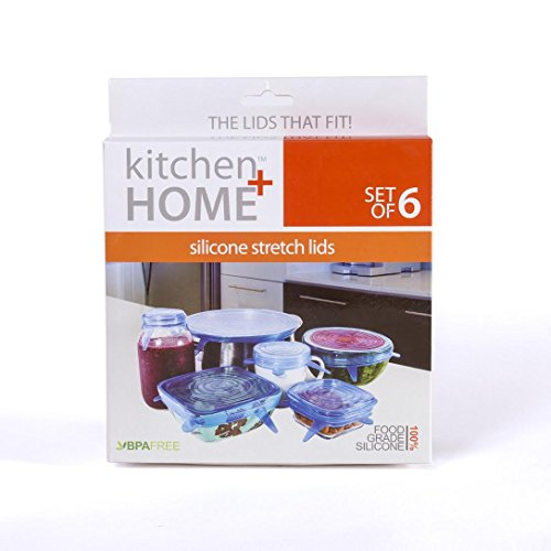 Kitchen Home Silicone Stretch Lids