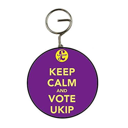 Keep Calm e vote UKIP portachiavi portachiavi apribottiglie a forma di regalo, 58mm