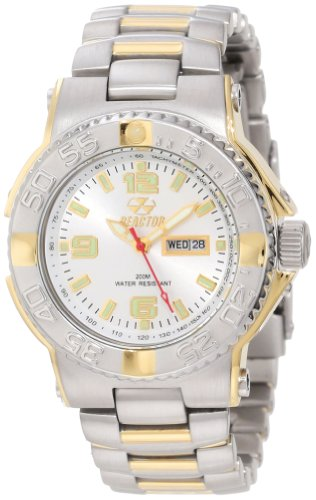 REACTOR Womens 77102 Classic Analog Mother-Of-Pearl Dial Watch<br />