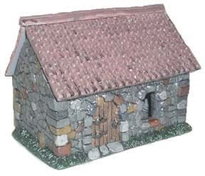 Stone Cottage Miniature Terrain