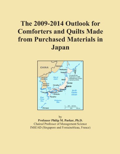 The 2009-2014 Outlook for Comforters and Quilts Made from Purchased Materials in Japan