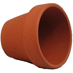 "5 - 4.25"" Clay Pots - Great for Plants and Crafts"