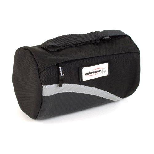 Eleven81 Combo Seat/Handlebar Bag Black