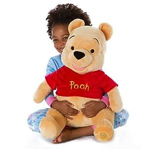 18 inches large stuffed Winnie the Pooh Disney Disney Winnie the Pooh Plush bear (japan import)