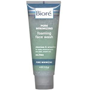 Biore Pore Minimizing Foaming Face Wash - 4 Oz