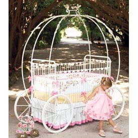 Corsican Kids Pumpkin Carriage Crib