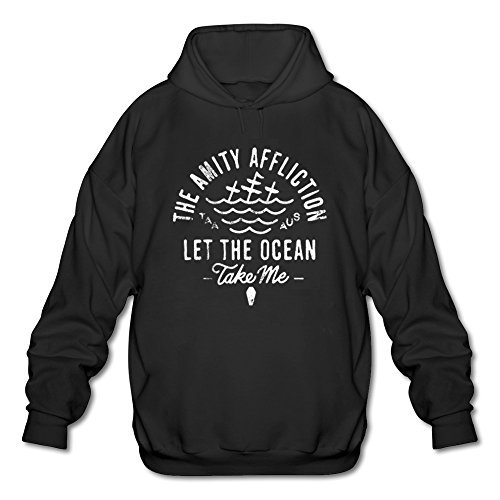 Uomo's Let The Ocean Take Me The Amity Affliction Hoodie
