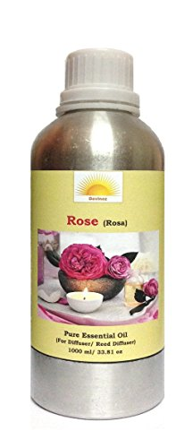 Devinez Aroma Rose Essential Oil For Diffusers/ Reed Diffuser, 1000 Ml