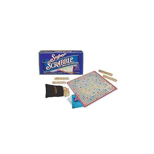 YUpopnva: Super Scrabble Board Game - Deluxe Edition