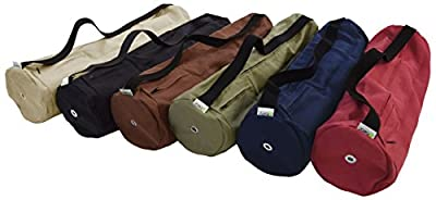 Yoga Mat Bag 100% Hemp, Large or Extra Large (fits all Jade and Manduka Mats) By Bean ProductsTM Made in USA