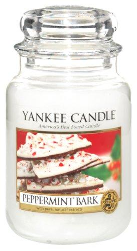 Yankee Candle 22 oz Jar Candle - Peppermint Bark