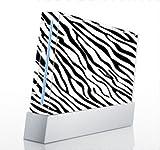 Zebra Print Skin for Nintendo Wii Console