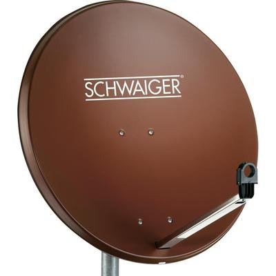 Schwaiger SPI996.2 Antenne Satellite Rouge