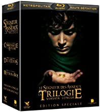 Coffret Trilogie Le Seigneur des Anneaux - Intégrale Versions longues - 15 disques [Blu-ray] [Version Longue - Édition spéciale]
