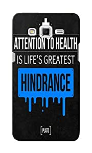 KnapCase Hindrance Designer 3D Printed Case Cover For Samsung Galaxy Grand 2