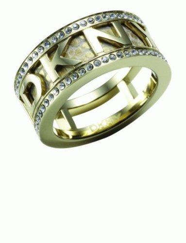 DKNY Damen Ringen DKNY JEWELRY LOGO NJ1216040503