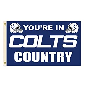 NFL Indianapolis Colts 3-by-5 Foot In Country Flag