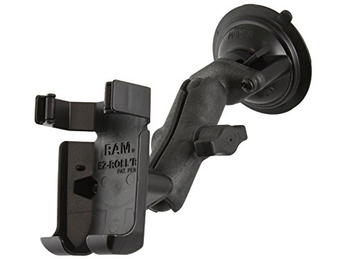 Ram Mount RAP-B-166-GA40 Composite Twist Lock Suction Cup Mount for Garmin GPSMAP 78, 78s and 78sc (Black)