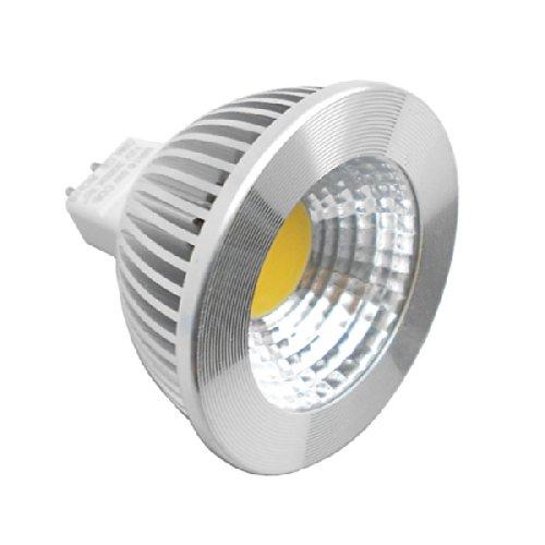 Generic Cob Spotlight 5W Mr16 Gu5.3 Dimmable 6000K 80 Deg 12V Pack Of 10