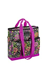 SCOUT Pocket Rocket Tote Bag, Social Bloom, 15 by 14-1/2 by 5-Inches