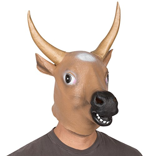 Giant Animal Masks by Allures & Illusions - Bull Head Costume Mask