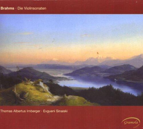 Violin Sonatas, Brahms, J.