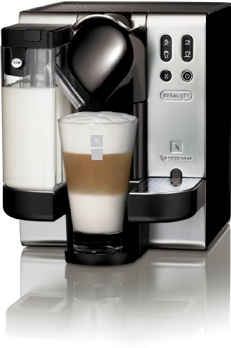 Single Cup Coffee Maker Nespresso : DeLonghi EN680.M Nespresso Lattissima Single-Serve Espresso Maker, Metal from Delonghi at the My ...