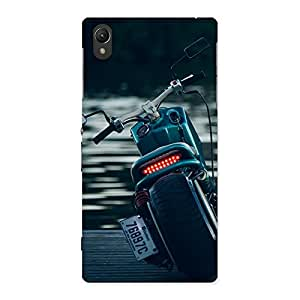 Special Cruise Bike Multicolor Back Case Cover for Sony Xperia Z1