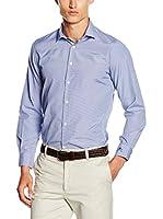 POLO CLUB Camisa Hombre Academy Taylor Slim (Azul Marino)