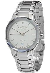 Skagen Women's 822SSXS Quartz Stainless Steel Silver Dial Watch