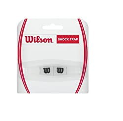 Wilson Shock Trap Tennis Vibration Dampener (Clear)