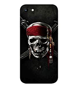 Evaluze DANGER PIRATES Printed Back Cover for APPLE IPHONE 7