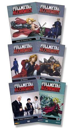 Fullmetal Alchemist - Vol. 01 bis 06 6er DVD-Set - Deutsch