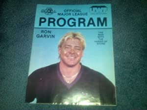 "NWA UWF 1987 Official Program WWF WCW WWE TNA ECW - Ron Garvin - Ric Flair - Steve ""Dr. Death"" Williams - Barry Windham - Shane Douglas - Lex Luger - Arn Anderson - Tully Blanchard - Rick Steiner - Terry Taylor - Eddie Gilbert"