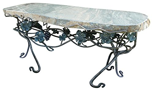 Stone Age Creations BE-WL-1 Woodland Granite Bench Grey