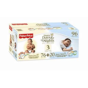 Fisher Price Happy Days and Nights Diapers