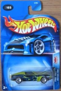 Pride Rides Series Ford Mustang Fastback 1968 Green Blue Flames in Tampo 2004 165 - 1