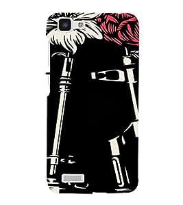 PrintVisa Guns And Roses Design 3D Hard Polycarbonate Designer Back Case Cover for VivoY27L