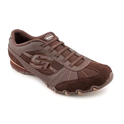 Skechers Bikers Vexed Womens Shoes Chocolate 5.5